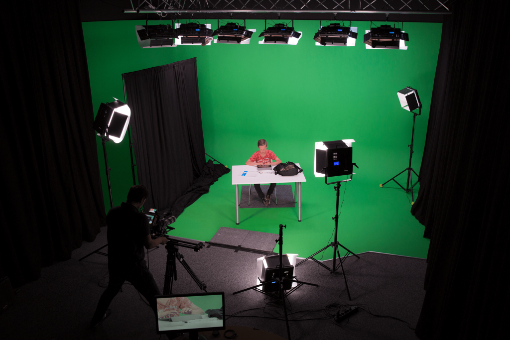 Chromakey studio huren